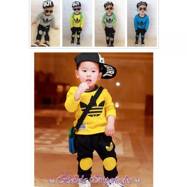 f63b908f2f2 Conjunto Fashion Adidas IM044 - Bebela Importados - Moda Bebê e Infantil